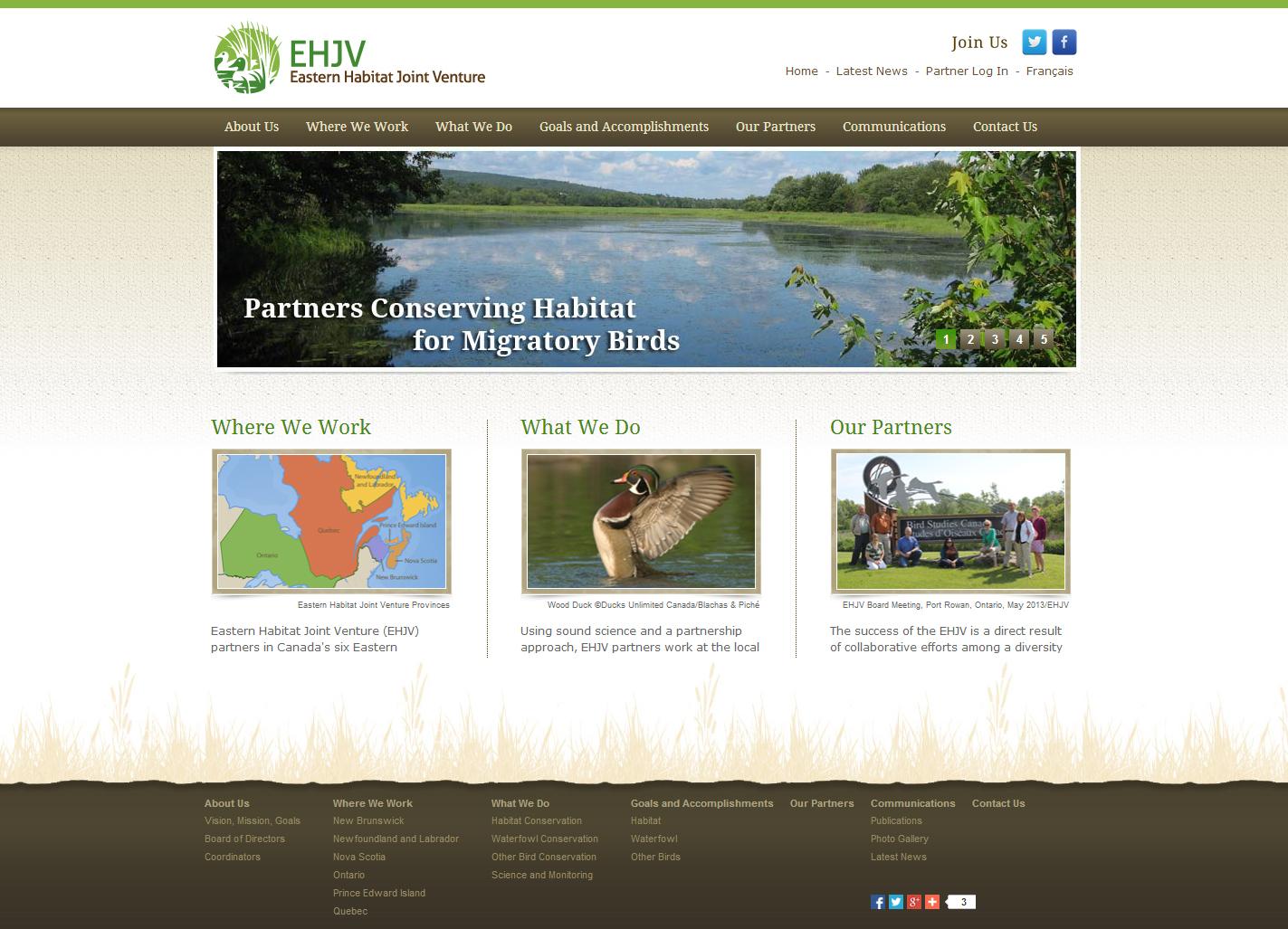 Eastern Habitat Joint Venture