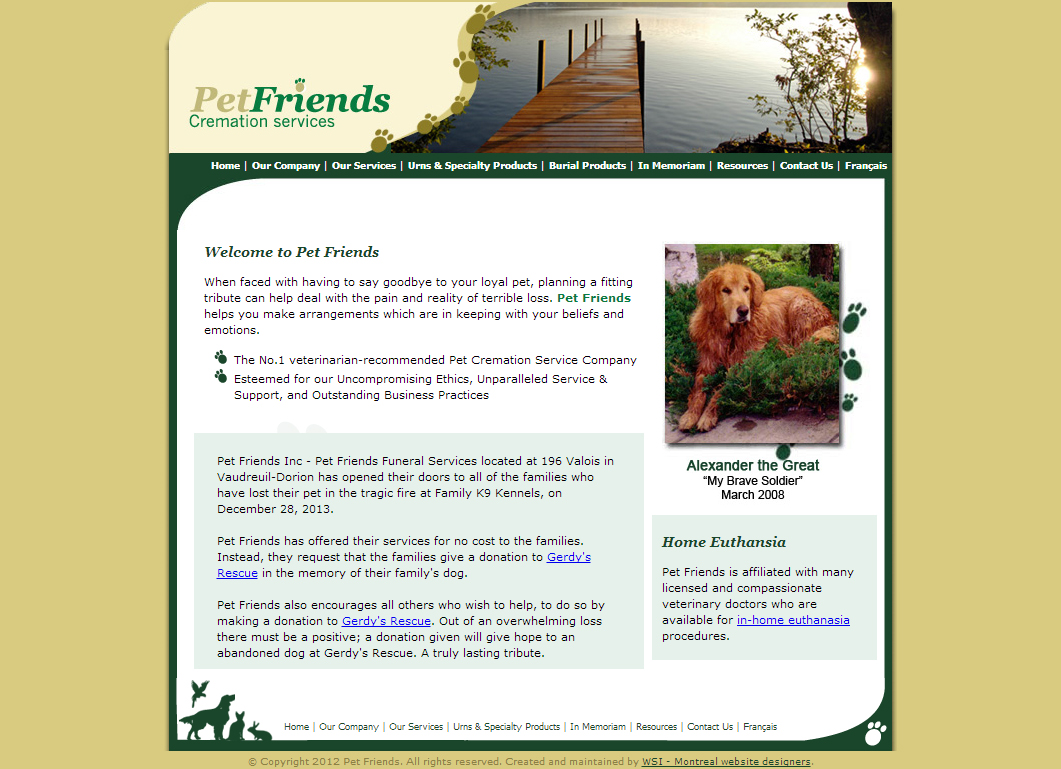 Pet Friends Cremation Services