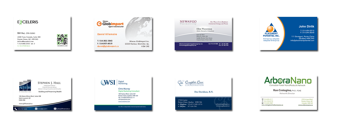 WSI Cartes d'affaires