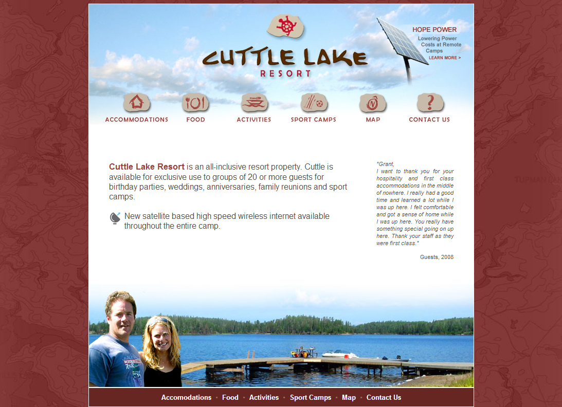 Cuttle Lake Resort
