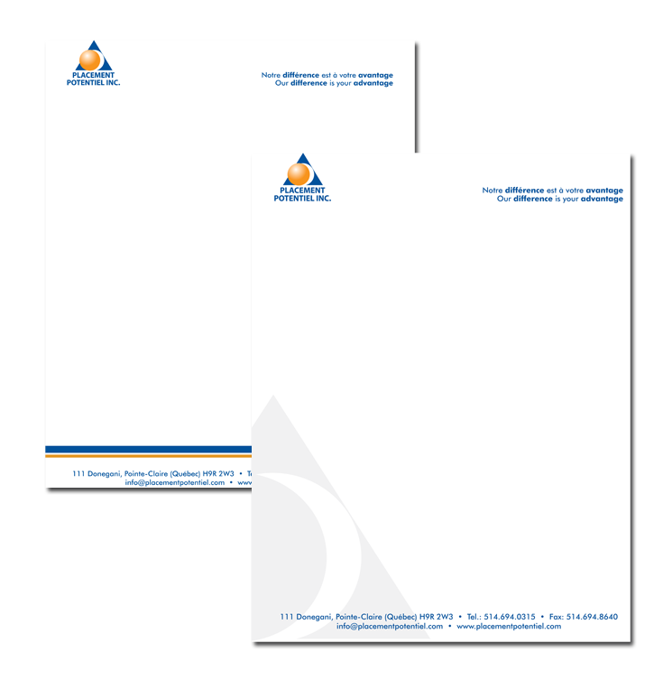 Placement Potentiel Brochure