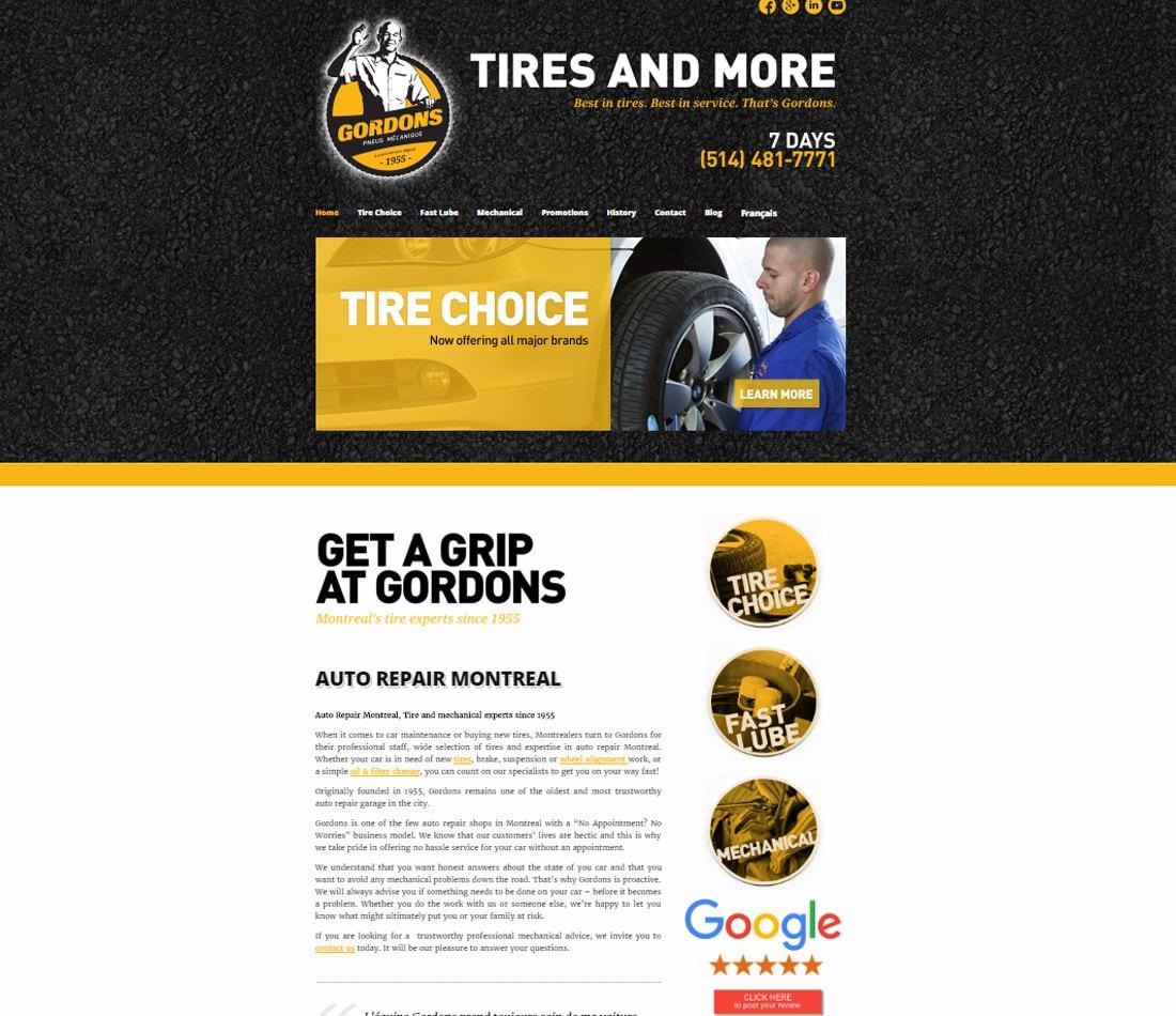 Gordons Tires