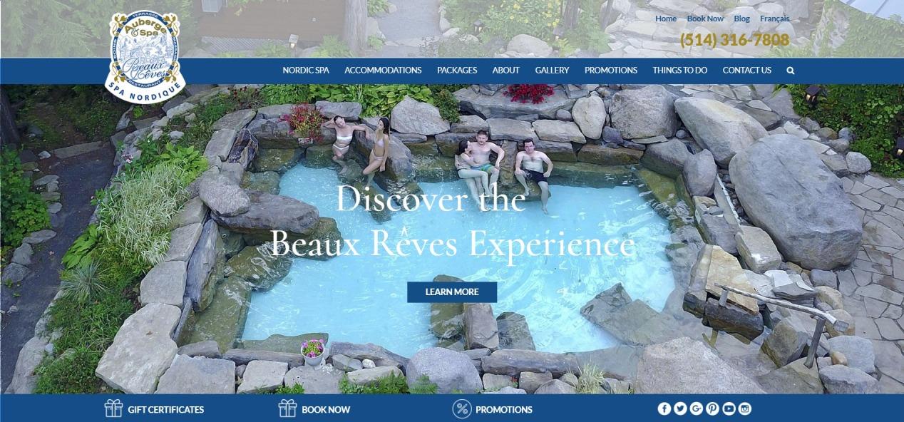 Auberge & Spa Beaux Reves