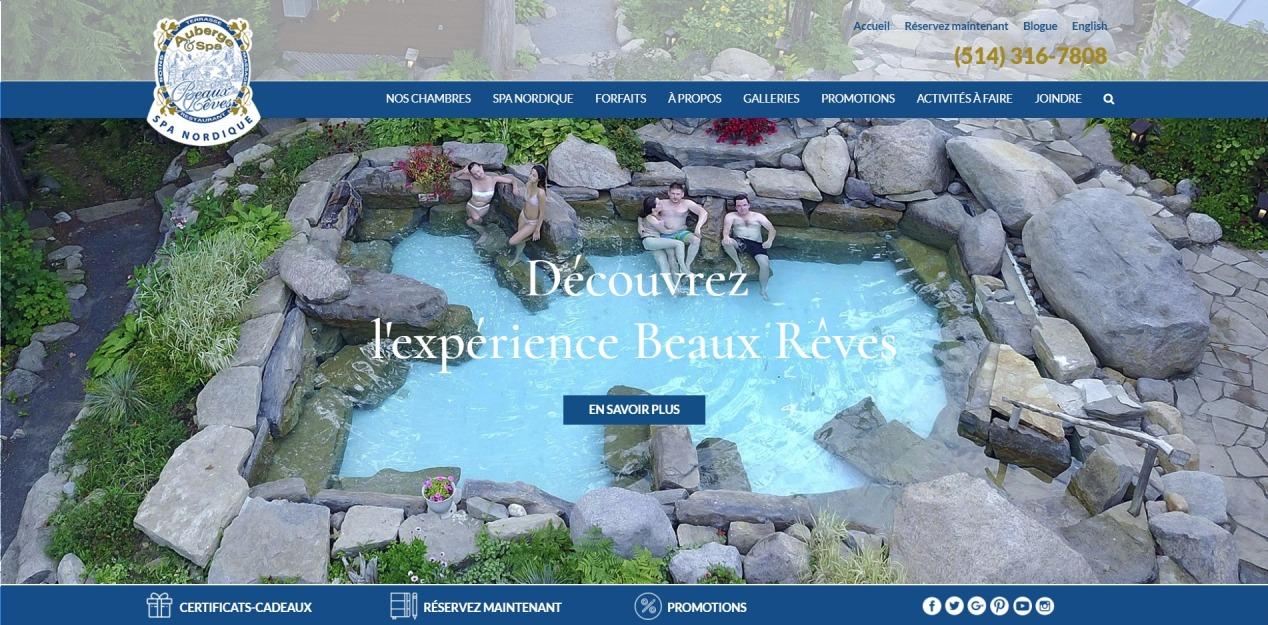 Auberge et Spa Beaux Reves